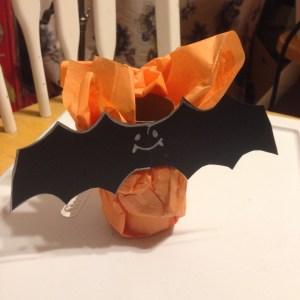 Halloween Candy Catcher, bat front