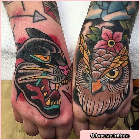 Tattoo Old School Sulla Mano | TeachersHub