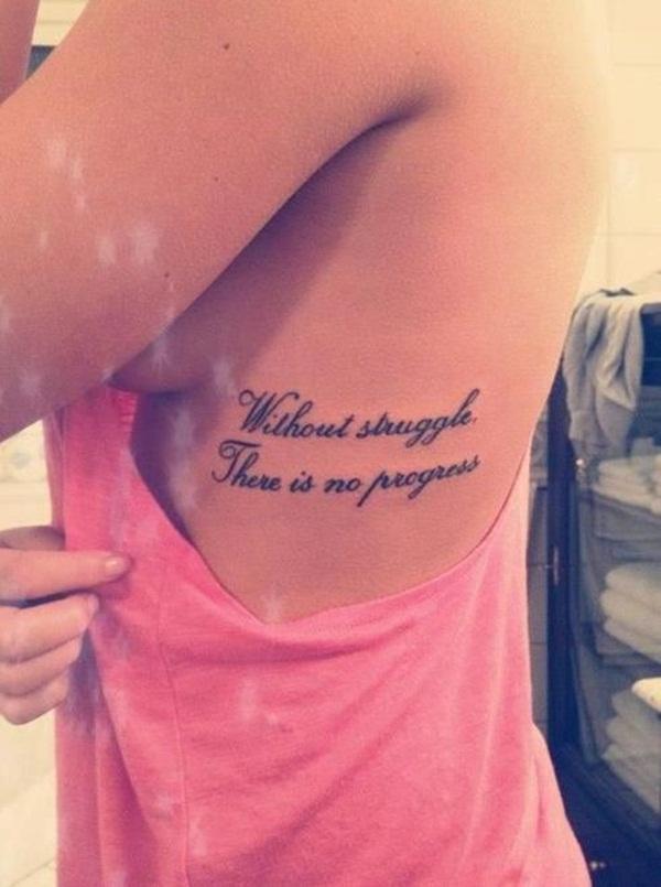 Show No Love Tattoo : tattoo, Quote, Tattoo, Designs, Girls