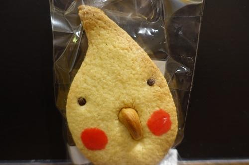 キタコトリ後期に出展されたオカメインコクッキー