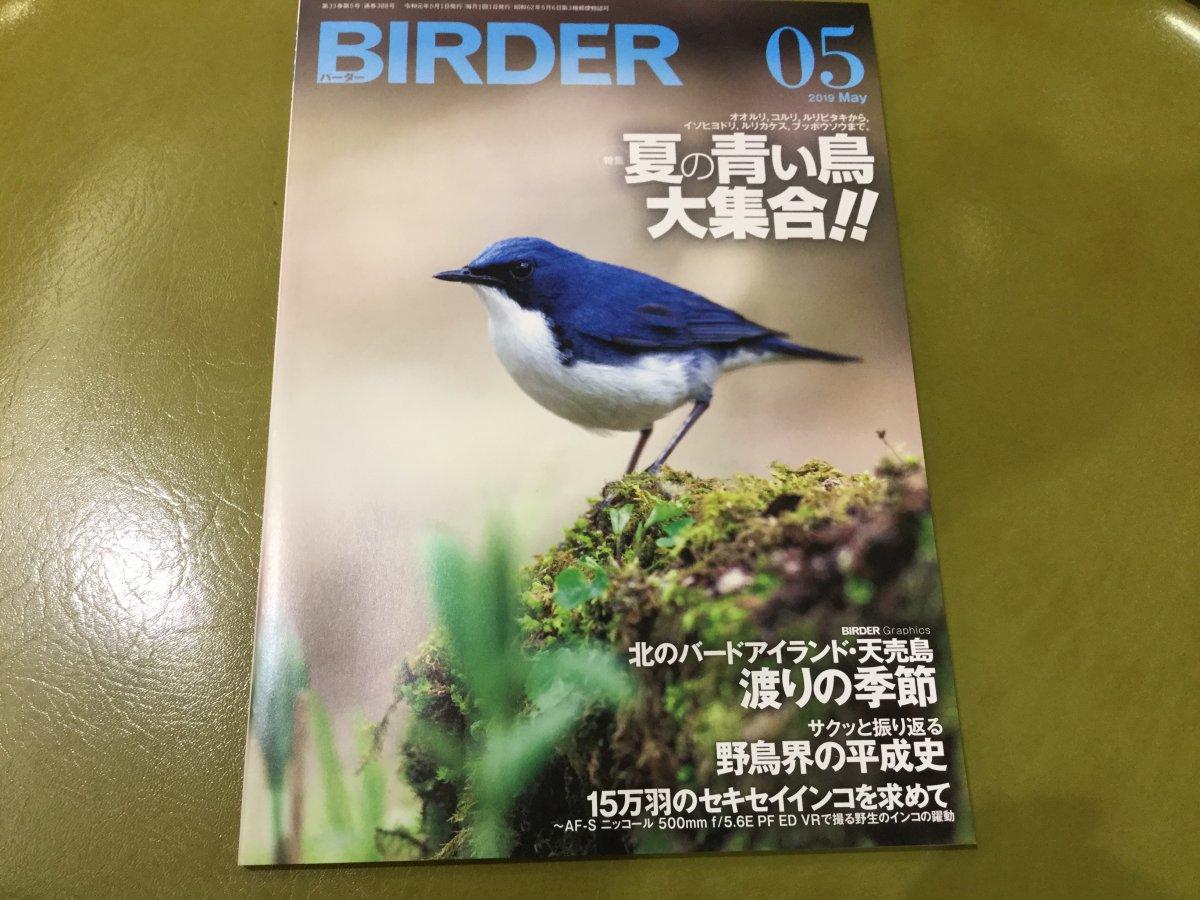雑誌バーダー2019年5月号の書評・感想レポート