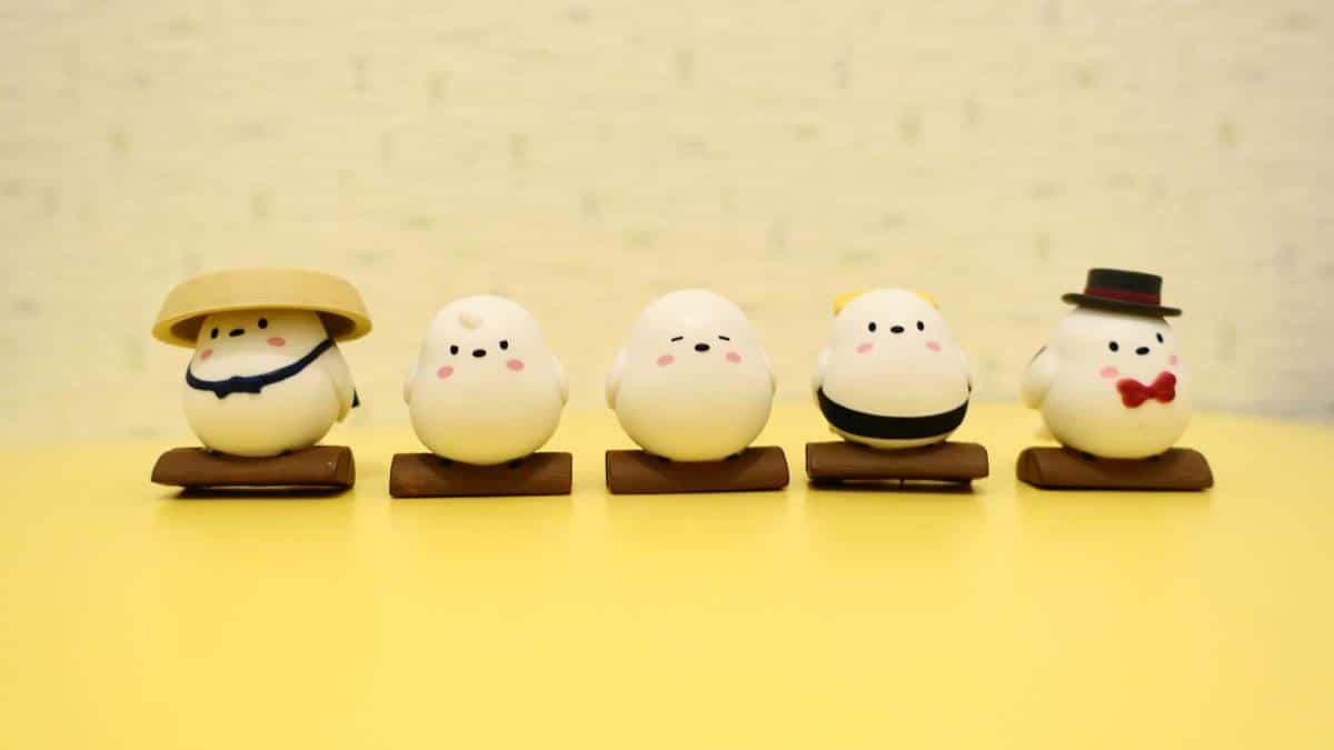 ほっかいどーぶつシマエナガちゃん02の5種類をフルコンプリート(旅人や紳士、たまごのお寿司も)