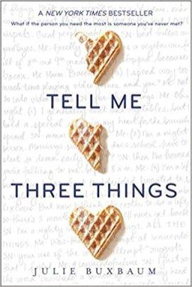 Buxbaum_Tell Me Three Things