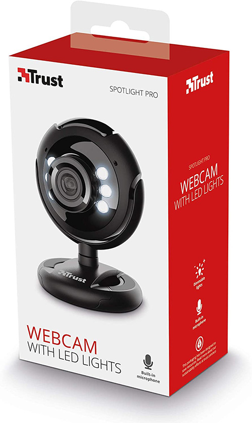 Webcam 1280x1024 USB 2.0 Spotlight Pro Trust [16428]