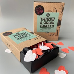 confetti throw and grow plant