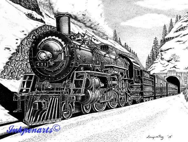 Pen and Ink Drawings Galleries