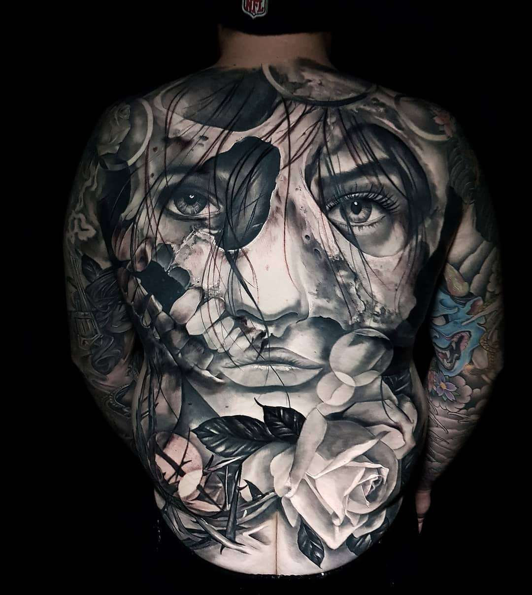 Tattoo Realism Black And Grey