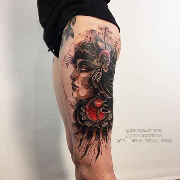 Tattoo Artist Jean Paul Marat