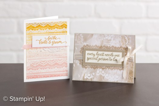 Delicate Details card designs from the Sale-a-Bration catalog