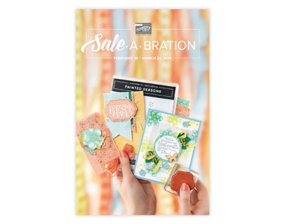 Stampin' Up! Saleabration Release 2 Catalog
