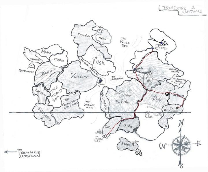 Fantasy Map Tutorial: Part I, The Basics | Inksorcery.com on