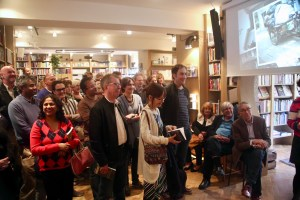 audience at book launch