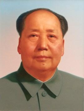 Portrait Mao Zedong