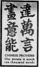 Chinese idiogram