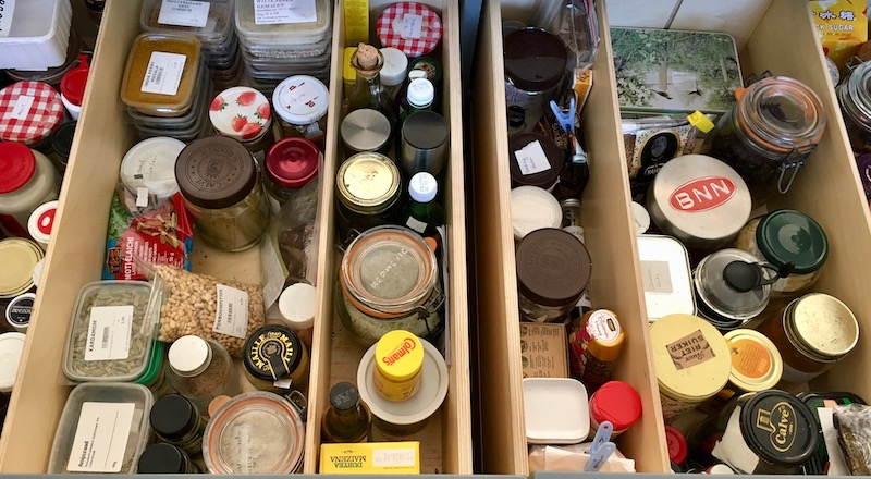 homesick for my spice drawers