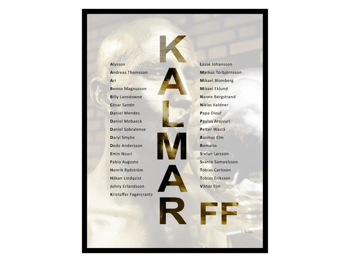 Kalmar FF tavla poster