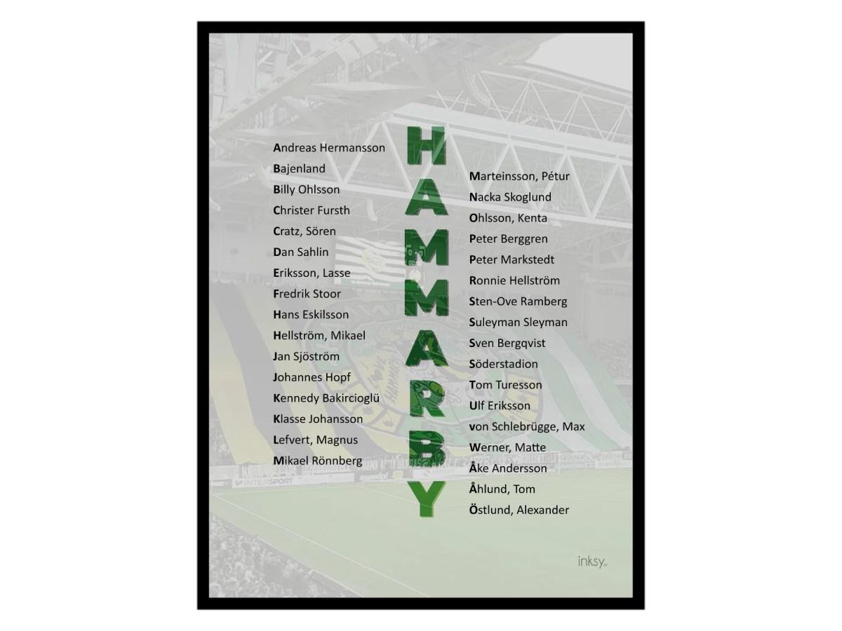 Hammarby fotboll legender