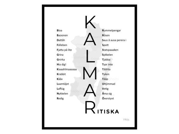 Kalmar Kalmaritiska Kalmar FF poster tavla