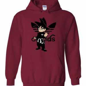 Goku Adidbas Dragon Ball Bdz Anime Manga Hoodies