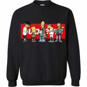 Supreme Simpsons Sweatshirt
