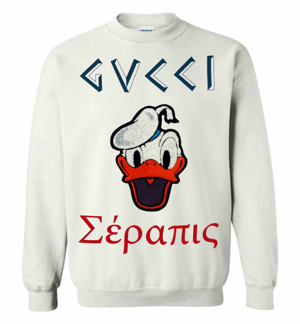 Gucci With Donald Duck Sweatshirt