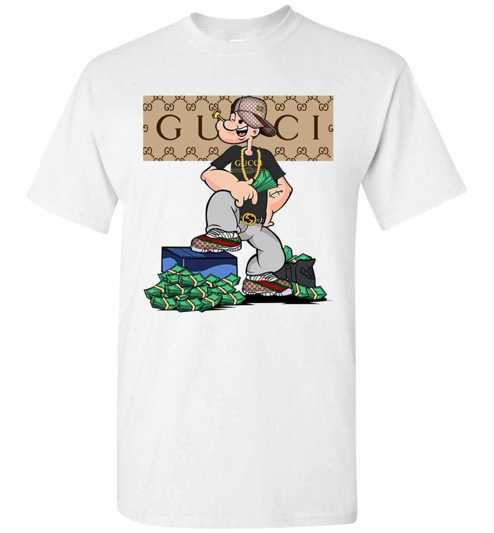 popeye gucci men 39 s t shirt. Black Bedroom Furniture Sets. Home Design Ideas