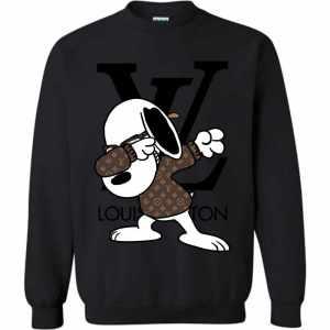 Snoopy Louis Vuitton Dabbing Sweatshirt