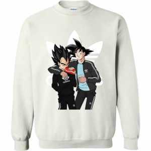 Dragonball Adidas Goku And Vegeta Sweatshirt