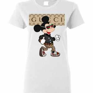 Gucci Mickey Mouse Stylish Women's T-Shirt