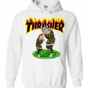 Rick And Morty Thrasher Hoodies