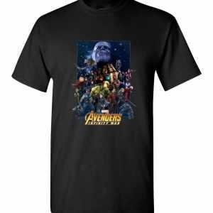 Marvel Avengers Infinity War Team Assemble Men's T-Shirt