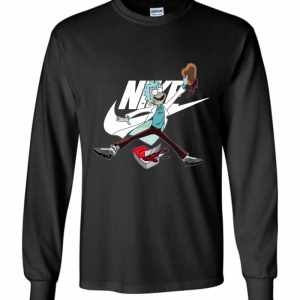 Rick Nike Funny Long Sleeve T-Shirt