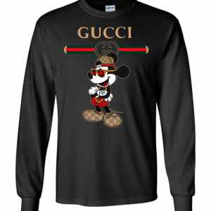 Gucci Mickey 2018 Long Sleeve T-Shirt