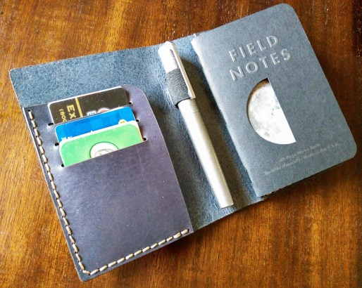 Galen Leather Field Notes cover interior