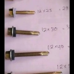 Harga Baut Roofing 4cm Self Drilling Screw 12 X 40 Atau