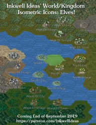 Map Icons Patreon: Elvish Settlement Icons RPGnet Forums