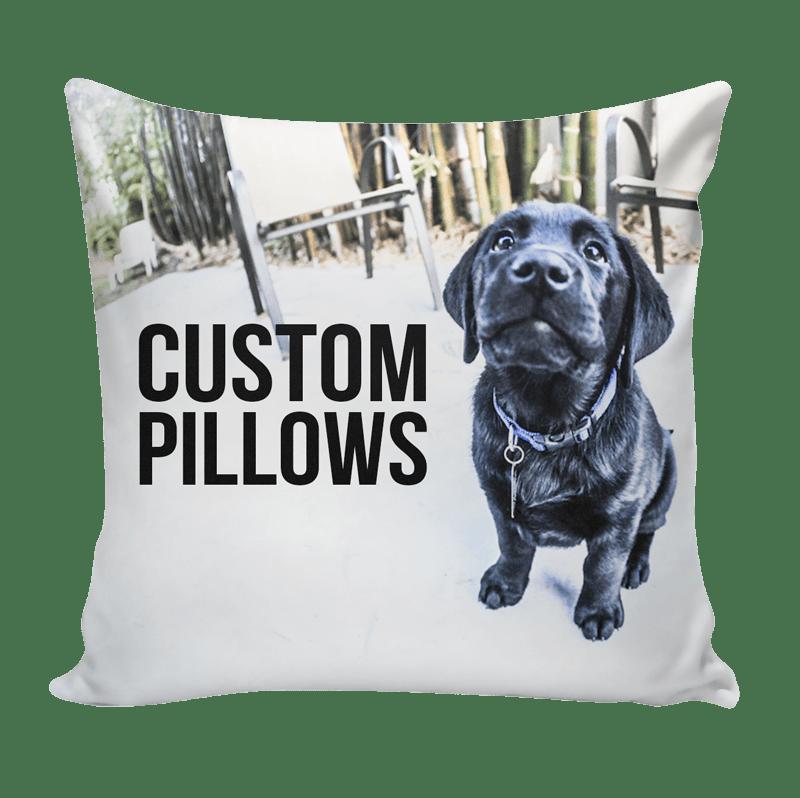 Custom Pillow using your art photos patterns  Ink Wells