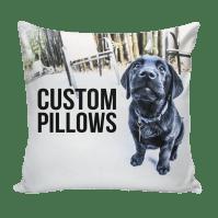 Custom Pillow using your art, photos, patterns