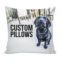 Custom Pillow using your art, photos, patterns | Ink Wells