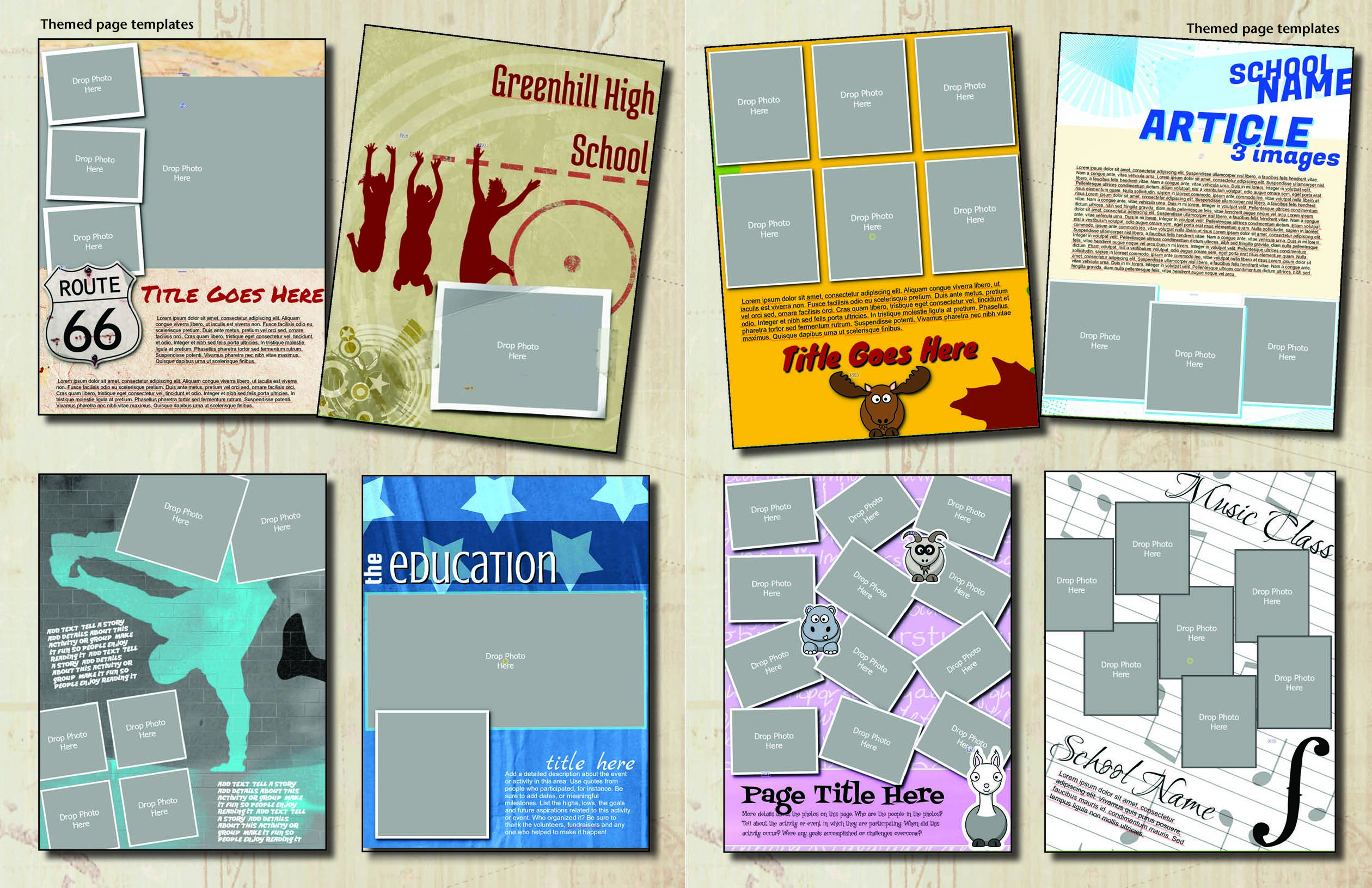 create your own yearbook