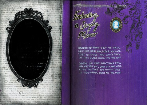 Journal Pages - Enchanting a Scrying Mirror