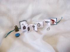 Mini Charms Book - Open