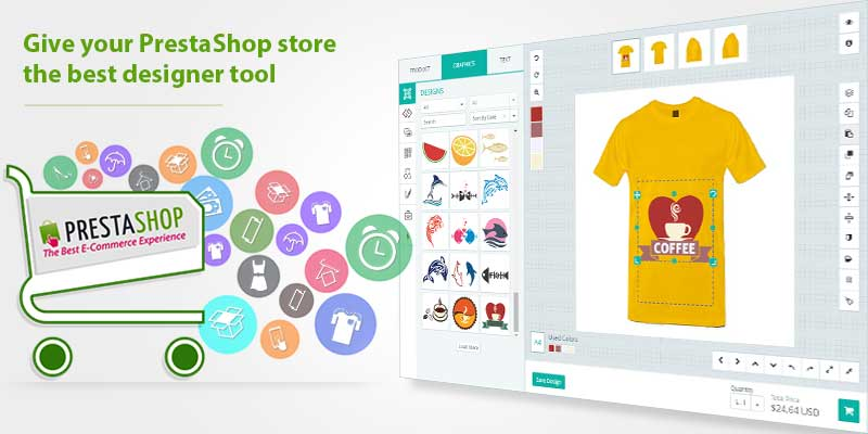0f1e0867 Online Custom Product Design Tool For PrestaShop