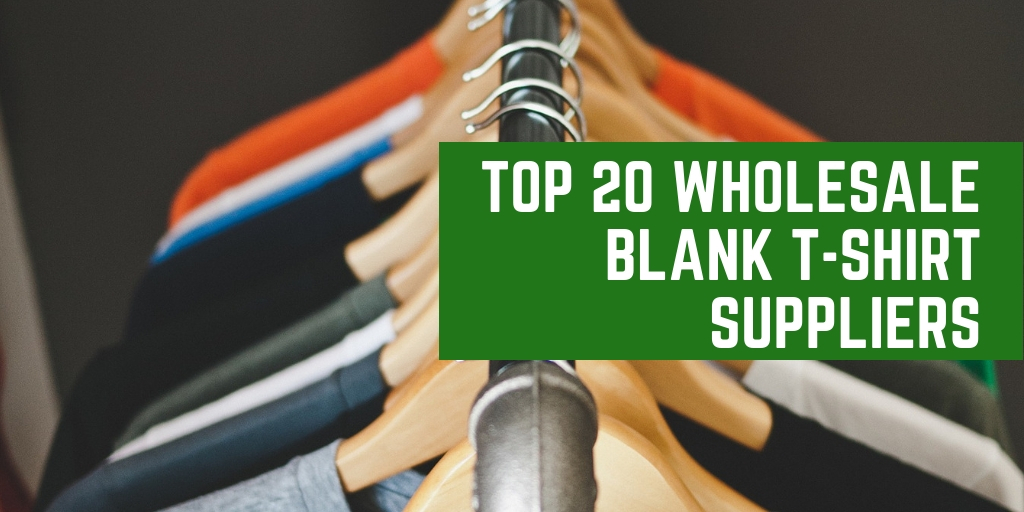Top 20 Wholesale Blank T-shirt Suppliers in USA
