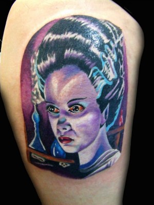 Bride_Frankenstein_Colour_Color_Tattoo