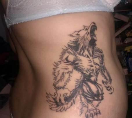Werewolf-Tattoos-Meaning