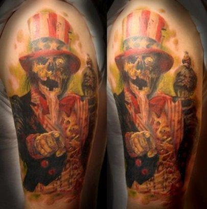 zombie_tattoo_by_tat2shippey-d397n1f