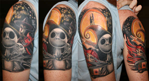 Nightmare-before-Christmas-tattoo-104381