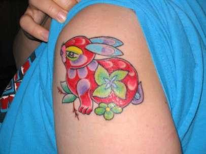 Bunny-Rabbit-Flowers-tattoo-40090