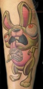 zombie-rabbit-tattoo